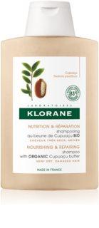 Klorane Cupuaçu Fleur de Cupuacu подхранващ шампоан за възстановяване и подсилване на косата