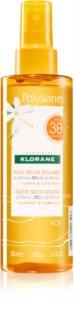 Klorane Monoï & Tamanu olej v spreji na opaľovanie SPF 30