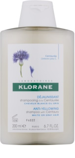 Klorane Centaurée Shampoo For Blonde And Grey Hair
