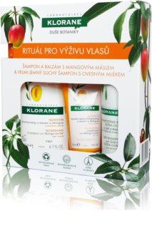 Klorane Mango подарунковий набір I. (з поживною ефекту)