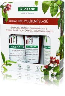 Klorane Quinine подарунковий набір III. (для зміцнення волосся)