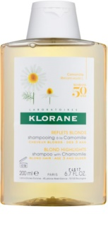 Klorane Camomille shampoing pour cheveux blonds