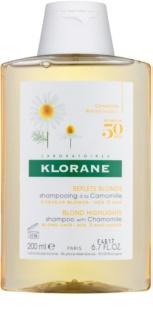 Klorane Chamomile Shampoo  voor Blond Haar