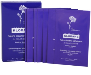 Klorane Cornflower Smoothing And Relaxing Patches for Eye Area