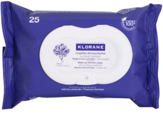 Klorane Cornflower Make-up Remover Doekjes