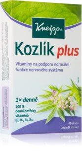 Kneipp Kozlík Plus dopllněk stravy pro podporu normální funkce nervového systému