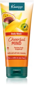 Kneipp Cheerful Mind Passion Fruit & Grapefruit gel de banho energizante