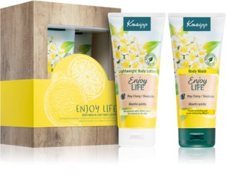 Kneipp Enjoy Life May Chang & Shea Butter dárková sada II.