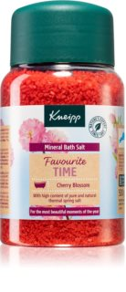 Kneipp Favourite Time Cherry Blossom соль для ванны с минералами