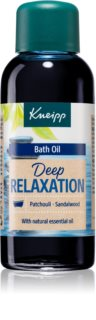 Kneipp Deep Relaxation Patchouli & Sandalwood олио за вана