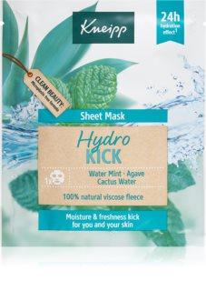Kneipp Sheet Mask Hydro Kick hydratačná plátienková maska