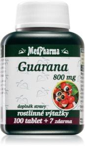MedPharma Guarana 800 mg podpora duševní výkonnosti a paměti