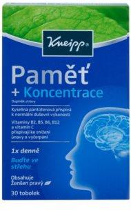 Kneipp PAMĚŤ+KONCENTRACE doplněk stravy pro zlepšení paměti a koncentrace