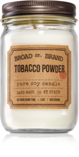 KOBO Broad St. Brand Tobacco Powder aроматична свічка (Apothecary)