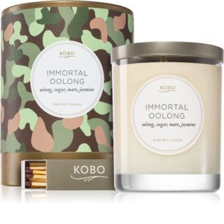 KOBO Camo Immortal Oolong ароматна свещ