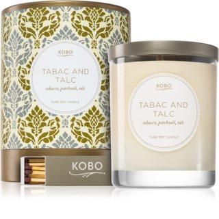 KOBO Motif Tabac and Talc Duftkerze