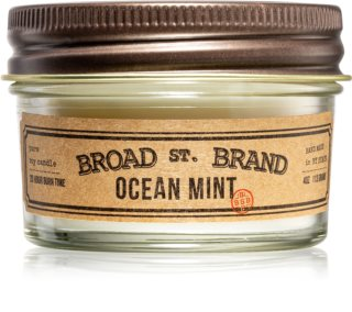 KOBO Broad St. Brand Ocean Mint scented candle I. (apothecary)