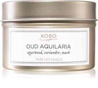 KOBO Aurelia Oud Aquilaria vela perfumada em placa