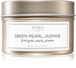 KOBO Coterie Green Pearl Jasmine vela perfumada em placa