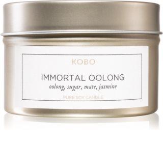 KOBO Camo Immortal Oolong vela perfumada em placa