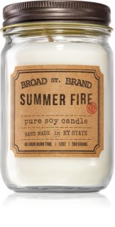 KOBO Broad St. Brand Summer Fire ароматна свещ  (Apothecary)
