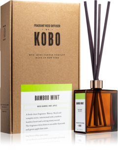 KOBO Woodblock Bamboo Mint aroma diffuser with filling