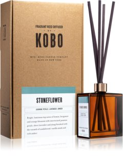 KOBO Woodblock Stoneflower diffuseur d'huiles essentielles avec recharge