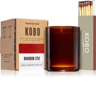 KOBO Woodblock Bourbon 1792 bougie votive