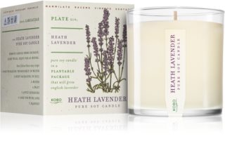 KOBO Plant The Box Heath Lavender vela perfumada
