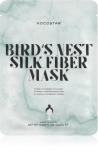 KOCOSTAR Bird's Nest Silk Fiber Mask платнена маска за интензивна хидратация