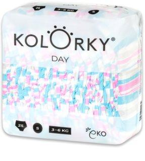 Kolorky Day Stripes EKO pleny velikost S 3-6 Kg
