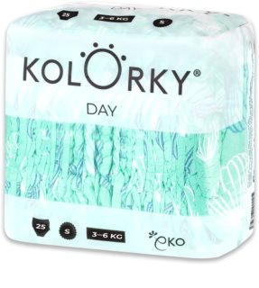Kolorky Day Ballons EKO pleny velikost S 3-6 Kg