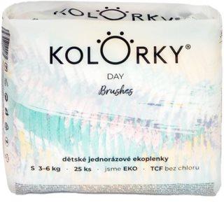 Kolorky Day Brushes EKO pleny velikost S 3-6 Kg