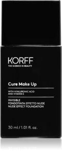 Korff Cure Makeup tekući puder za prirodan izgled