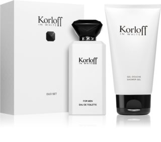 Korloff In White Gift Set for Men