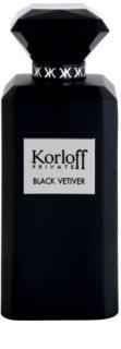 Korloff Korloff Private Black Vetiver toaletna voda prš uniseks