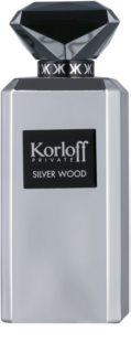 Korloff Korloff Private Silver Wood parfumovaná voda odstrek pre mužov