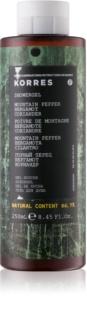 Korres Mountain Pepper, Bergamot & Coriander Duschgel für Herren