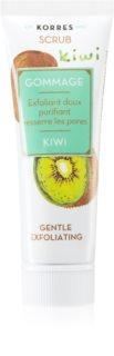 Korres Kiwi peeling de limpeza suave