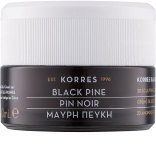 Korres Black Pine cremă de zi cu efect de fermitate și de lifting pentru piele normala si mixta