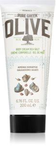 Korres Olive & Sea Salt Kevyt Vartalomaito