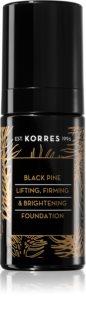 Korres Black Pine fond de ten lichid iluminator cu efect de întărire