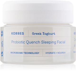 Korres Greek Yoghurt питательный ночной крем с пробиотиками