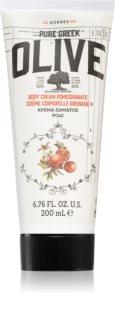Korres Olive & Pomegranate хидратиращо мляко за тяло