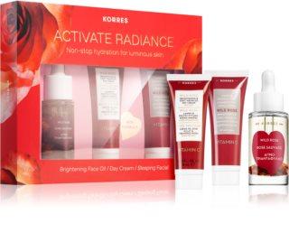 Korres Activate Radiance coffret cadeau (pour une peau lumineuse)
