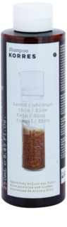 Korres Rice Proteins & Linden шампунь для тонких волос