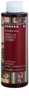 Korres Vanilla, Freesia & Lychee душ гел  за жени