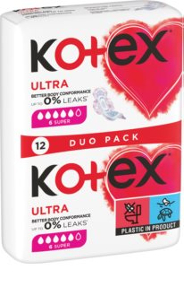 Kotex Ultra Comfort Super sanitary towels