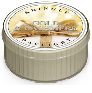 Kringle Candle Gold & Cashmere čajna sveča