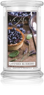 Kringle Candle Lavender Blueberry candela profumata